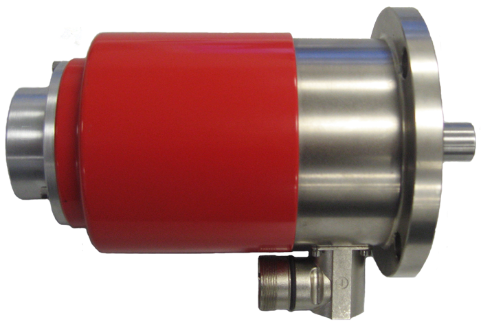 SRE sensor with throughout shaft